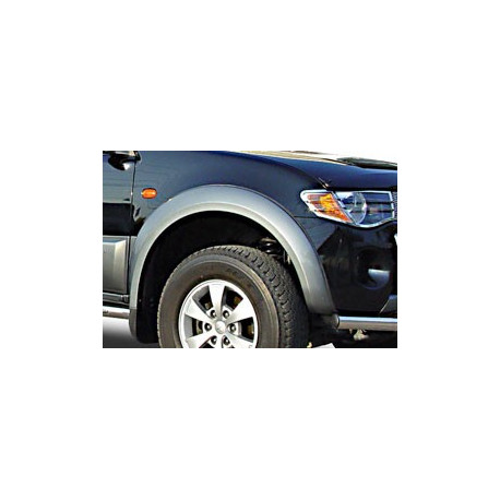 Fender Flares For Ford Ranger do 2012 Dbl-Cab. Painted Grey