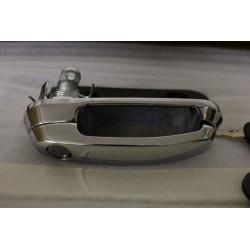 Kľučka so zámkom a kľúčmi pre hardtop Cover King Top - Chrom - povrch