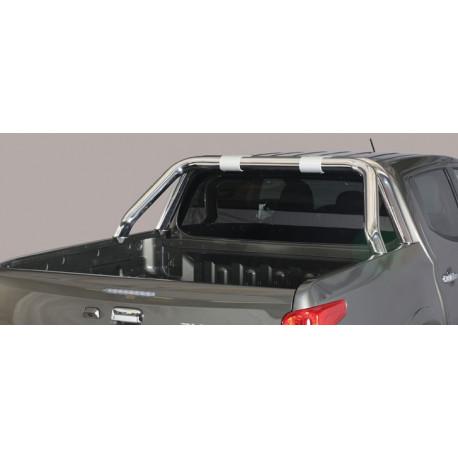 Nerezový rám korby design 76 mm - Fiat Fullback 16- FI 16 RLD/406/IX