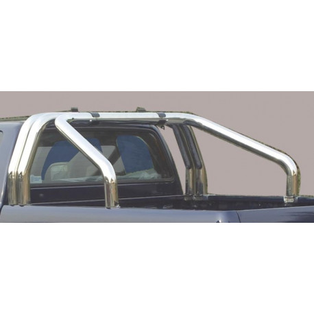 Nerezový rám korby double průměr 76 mm - Nissan NP300 Navara NI 16 RLSS/3400/IX
