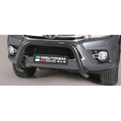 Přední ochranný rám průměr 76 mm - Toyota Hilux 16+ TO 16 EC/SB/410/PL