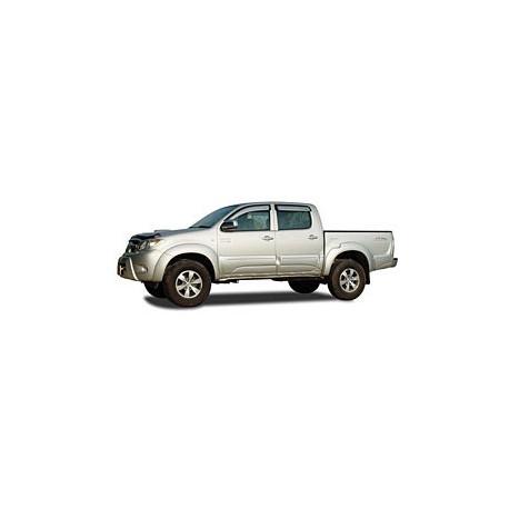 Body Clading Toyota Vigo/hilux - painted - vč laku (plasty na ochranu dveří)