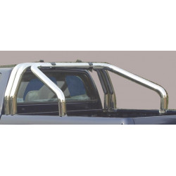 Nerezový rám korby double průměr 76 mm - Toyota Hilux 16+ TO 16 RLSS/3410/IX