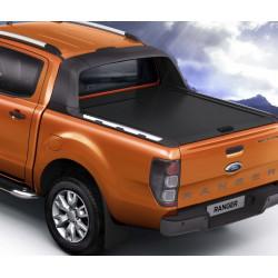 Mountain Top černá hliníková roleta pro Ford Ranger Wildtrak DC