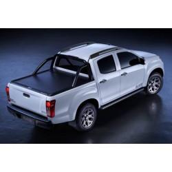 Mountain Top černá hliníková roleta pro L200 2015- D/C, Fiat 2015- D/C