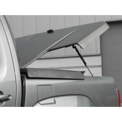Pro-Form VW Amarok Sportlid II cover, with Pro-Form Styling bar, black grain ABS surface