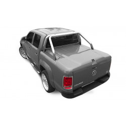 Pro-Form VW Amarok Sportlid II cover, with Pro-Form Styling bar, painted