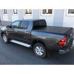 Skladací kryt korby - Alpex Hidden Snap Soft Cover - Toyota Hilux