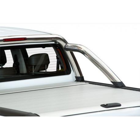 Mountain Top hliníková roleta - Aluminium Roll cover, silver Ford Ranger DC