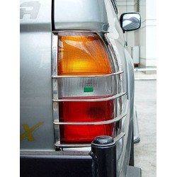Tail Light Guards Stainless Steel for Mitsubishi L200.MK.4 L200 old