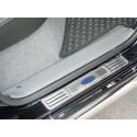 Nerezový kryt prahů Toyota Vigo-hilux