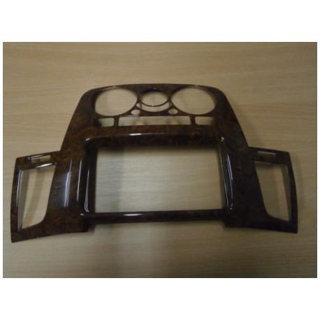 3D Wood Trims For Toyota Hilux.MK.6 (Vigo) Dbl-Cab. Dark Walnut