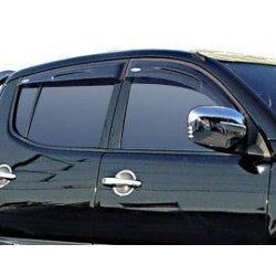 Okenní deflektory Mitsubishi L200. do 2005